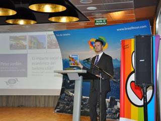 Turismo LGBT brasileiro é destaque na Espanha antes da Fitur, Peter Jordan, da Organização Mundial do Turismo (Foto: Divulgação)
