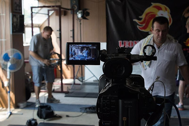 Downtown films - snimanje treninga u teretani