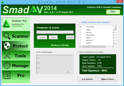Smadav 9.8 Screenshot