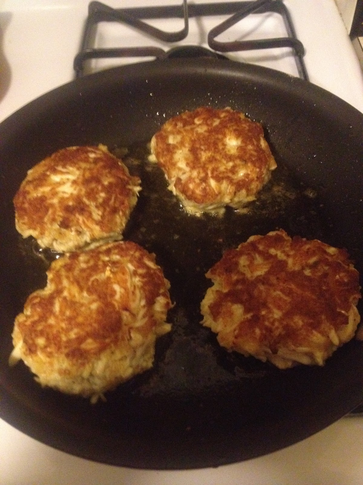 In Patti 39 S Place The Crab Cake