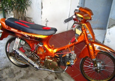 Modifikasi Honda Grand Astrea Ceper