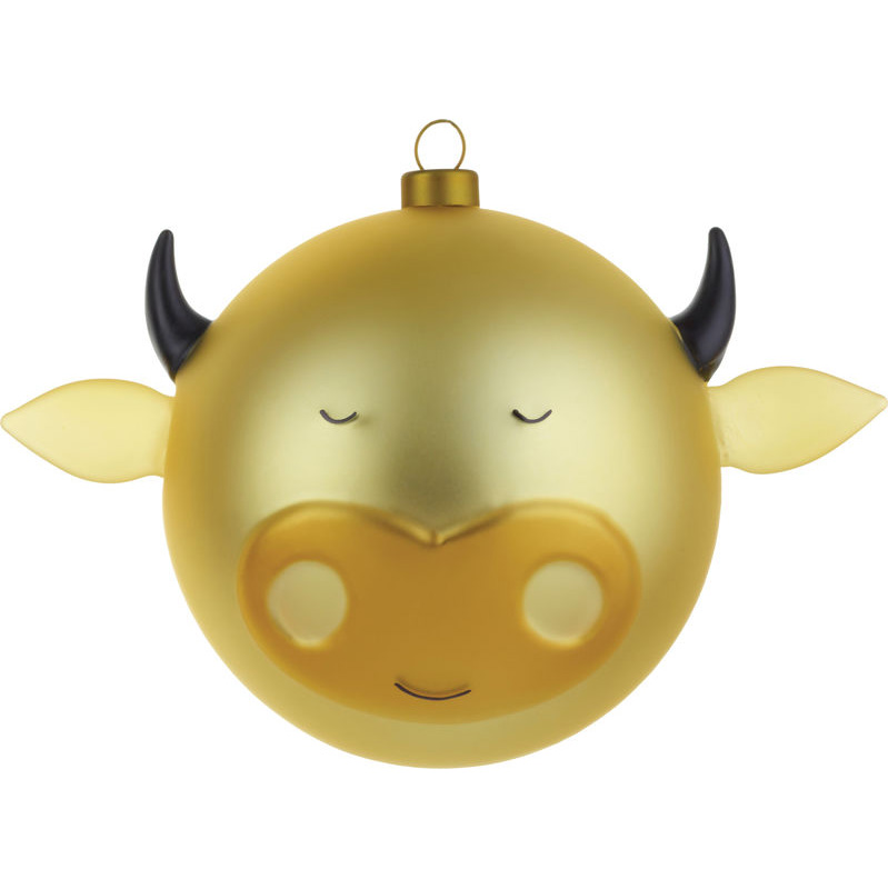 Cow Christmas Ornaments