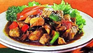 Resep dan cara memasak Ayam Paprika