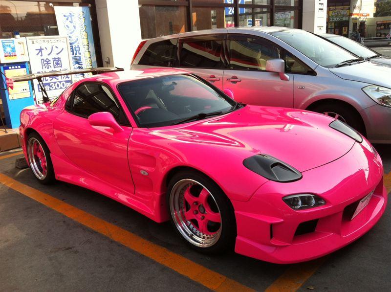 Mazda RX-7 FD3S po tuningu