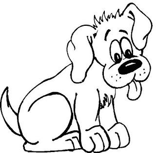 Riscos para pintura de cachorros