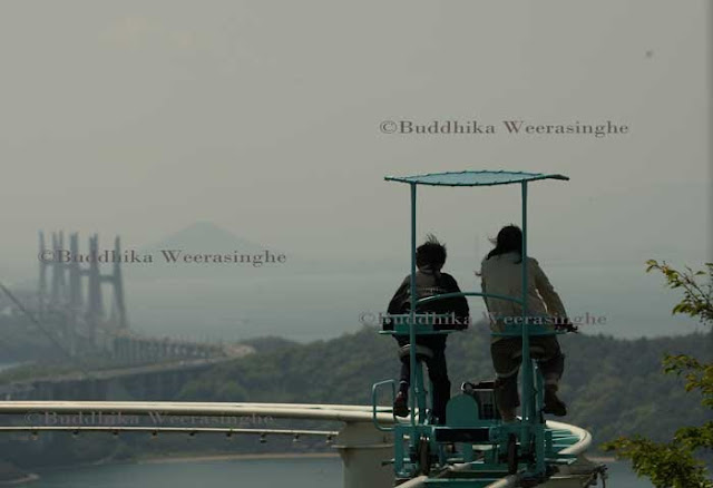 Buddhika Weerasinghe Pedal Powered Sky Cycle Roller Coaster - Pedal powered skycycle rollercoaster japan amazing