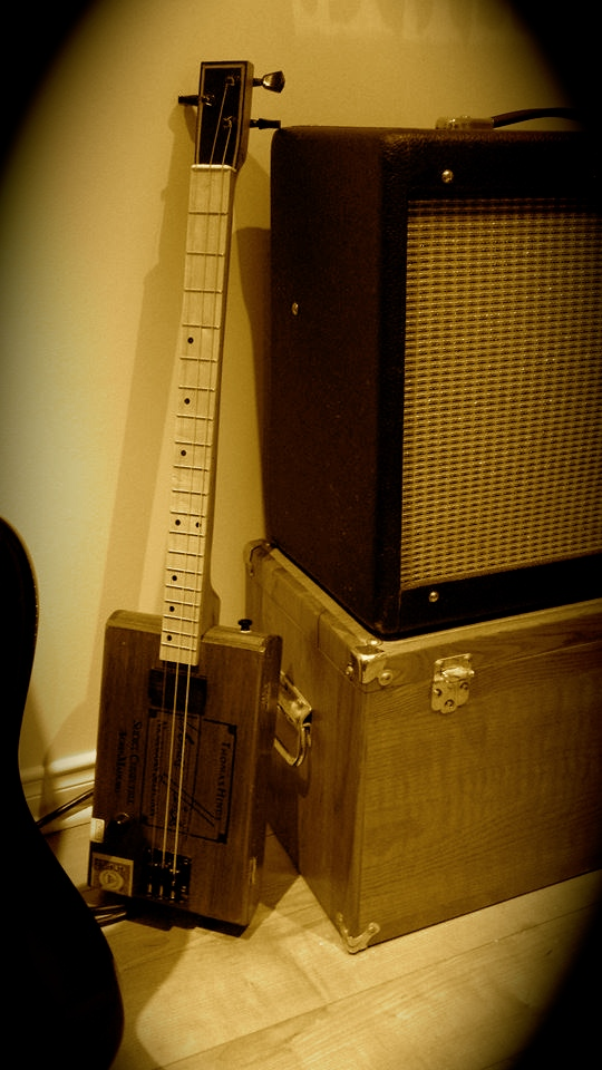 Junkyard Villain's Cigar Box Guitar