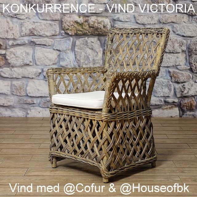 Konkurrence_give Away_vind Victoria fletstol @houseofbk.com