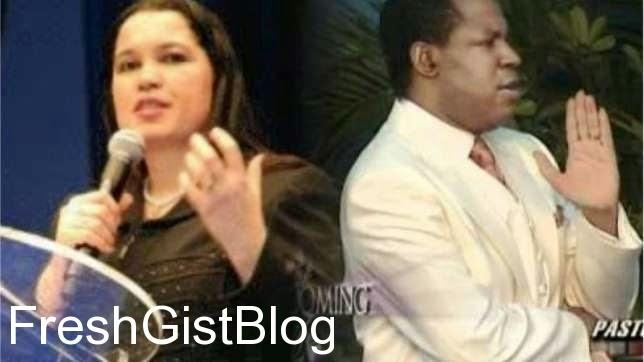 Rev. Anita Oyakhilome Pastor Chris Oyakhilome
