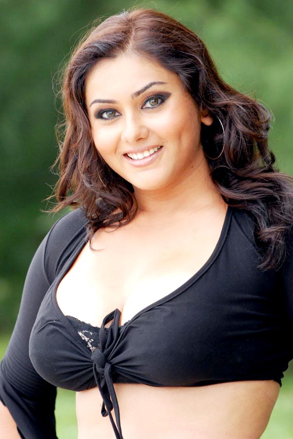 South Indian Actress Namitha Hairstyle Pictures