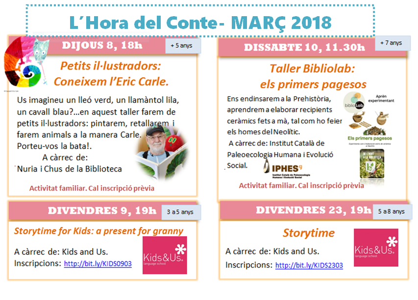 L'HORA DEL CONTE MARÇ