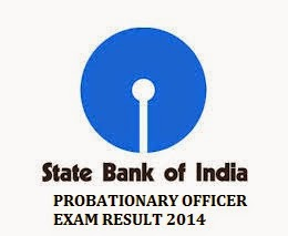 SBI PO RESULT, SBI PROBATIONARY OFFICER EXAM RESULT 2014