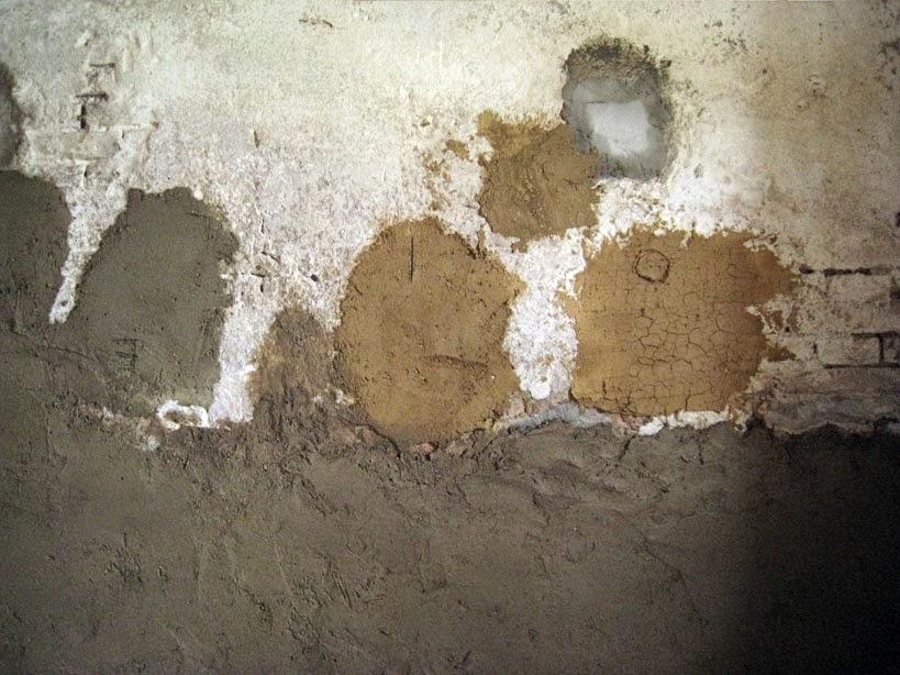 intonaco in argilla