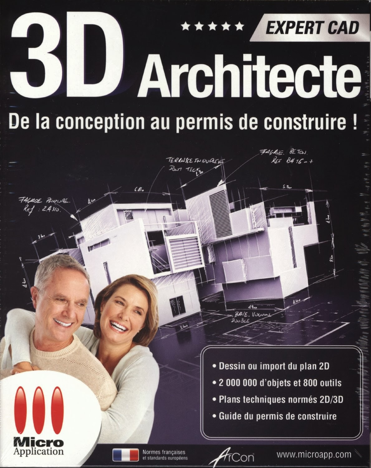 Telecharge architecte 3d expert cad v13 keygen crack for Architecte 3d avec crack