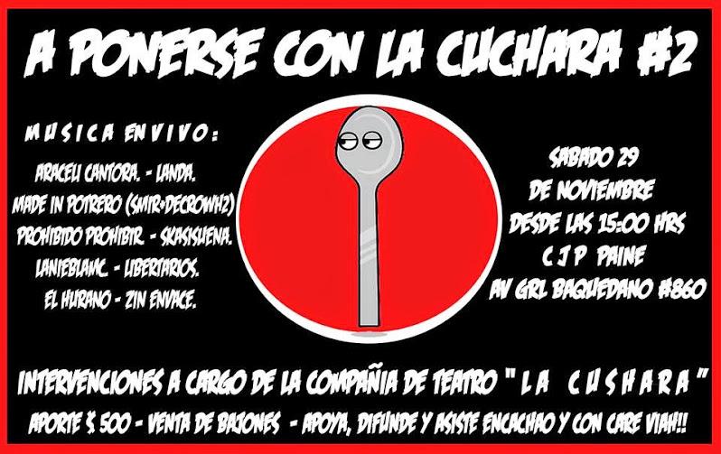 PAINE: A PONERSE CON LA CUCHARA # 2