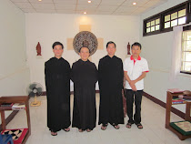 Monks and a postulant