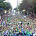 600 mil adoradores participaram da Marcha para Jesus no Rio