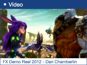 FX Demo Reel 2012 - Dan Chamberlin