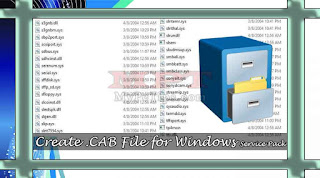 Creating .CAB File for Windows Service Pack