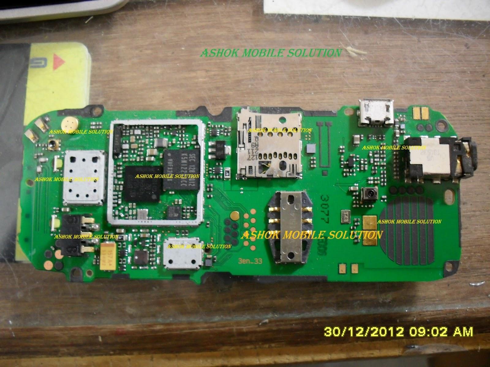 nokia c2 full pcb board