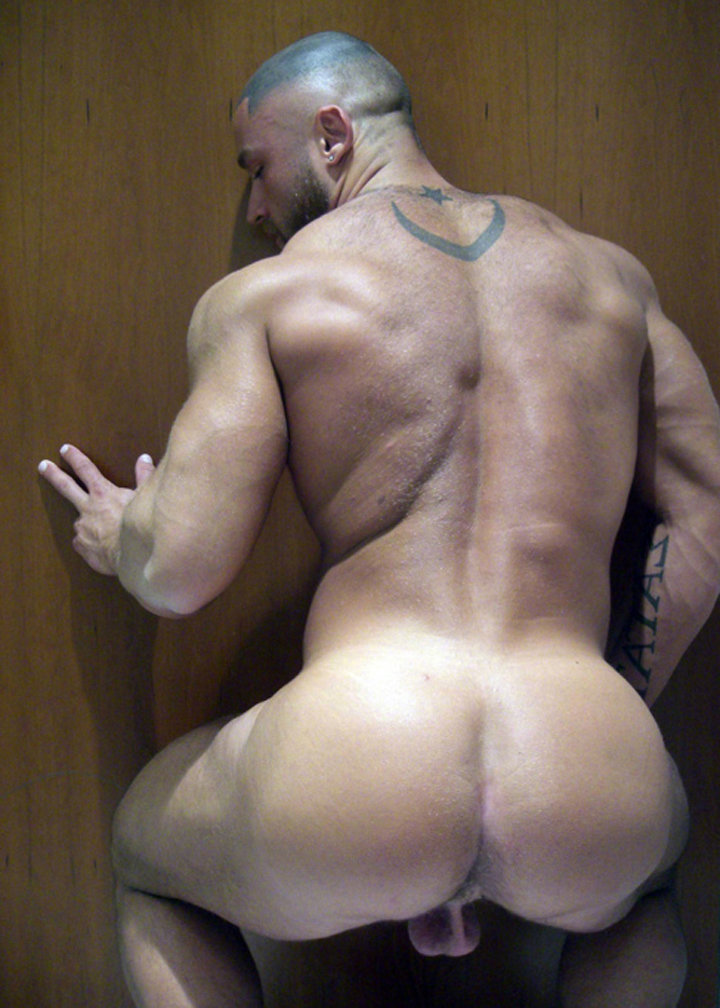 Francois sagat and more muscular men pissing 7