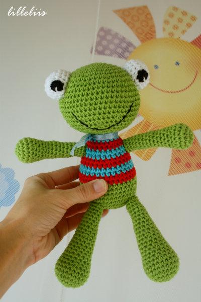 Kawaii Frog Amigurumi : Haaktips: Kikker haken