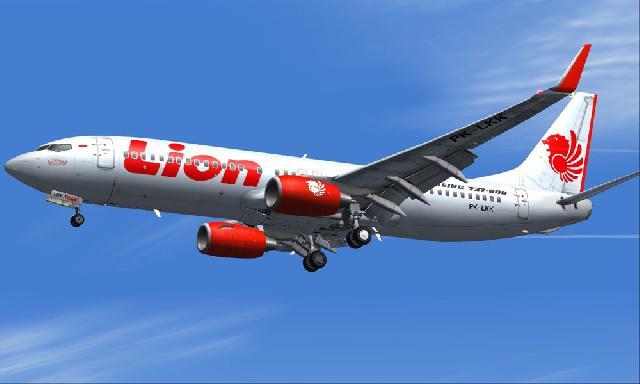 Foto Gambar Pesawat Terbang Lion Air 17