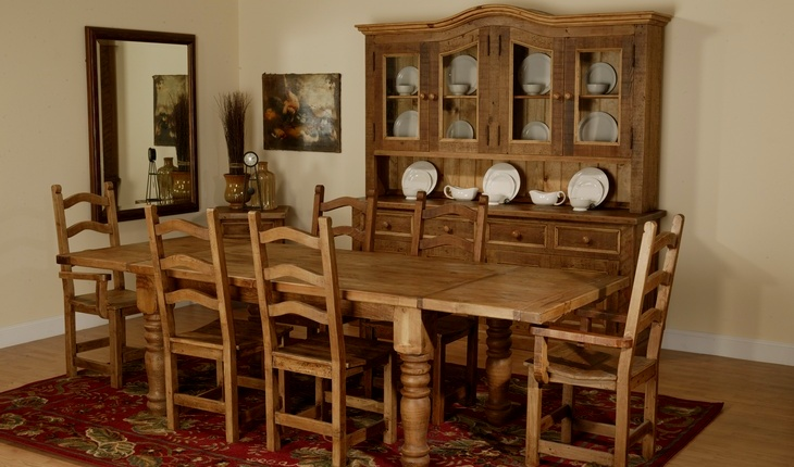 ... Home Interiors and Garden: Rustic Furniture Sets for Your Dining Room