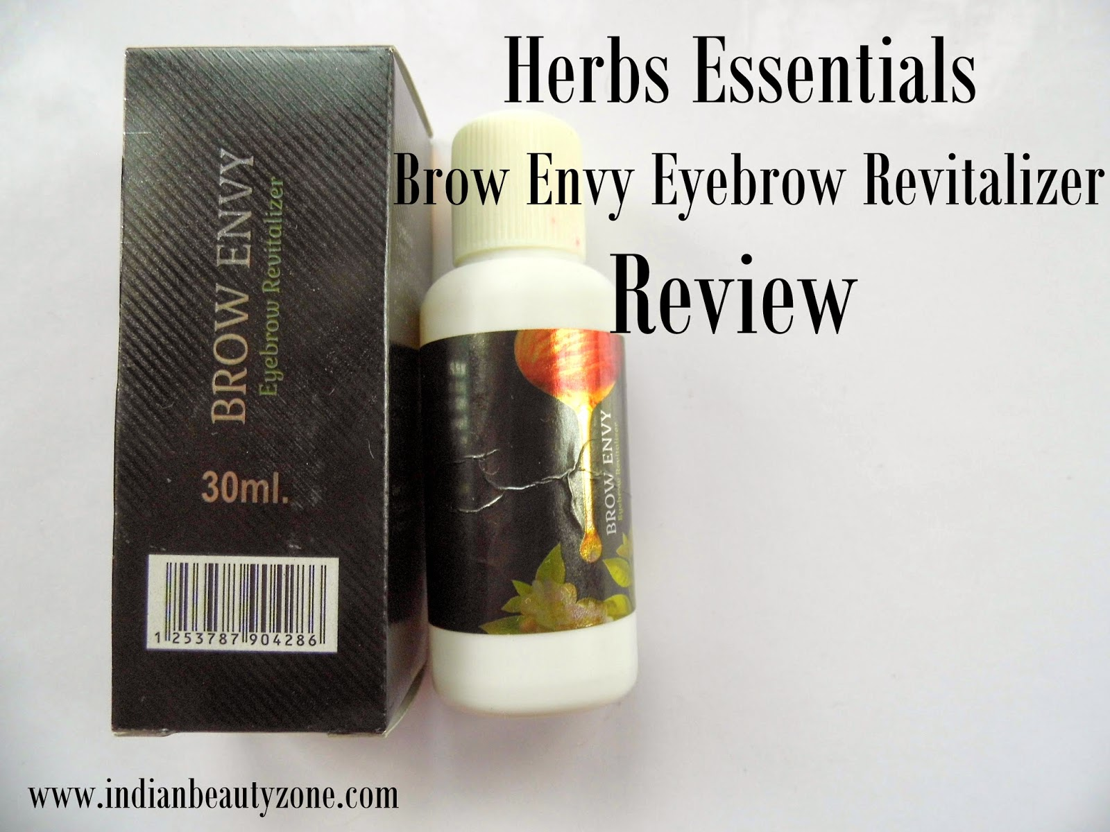 Indian Beauty Zone Herbs Essentials Brow Envy Eyebrow Revitalizer