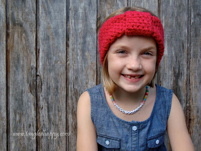 free easy turban headband crochet pattern