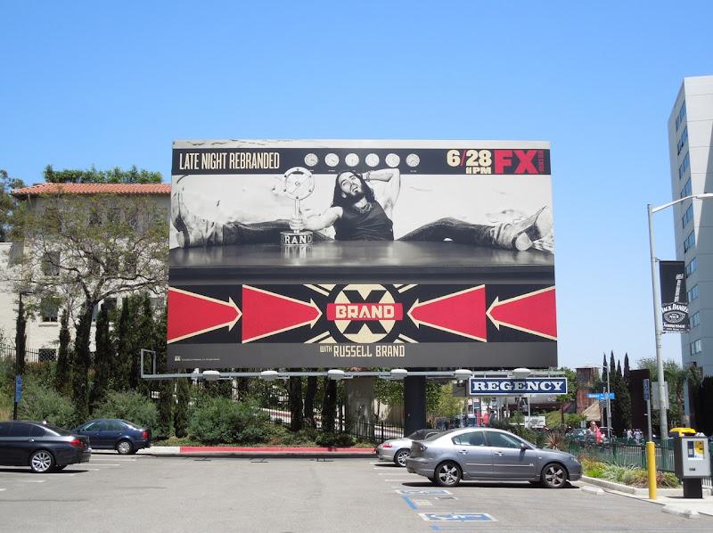 Brand X billboard