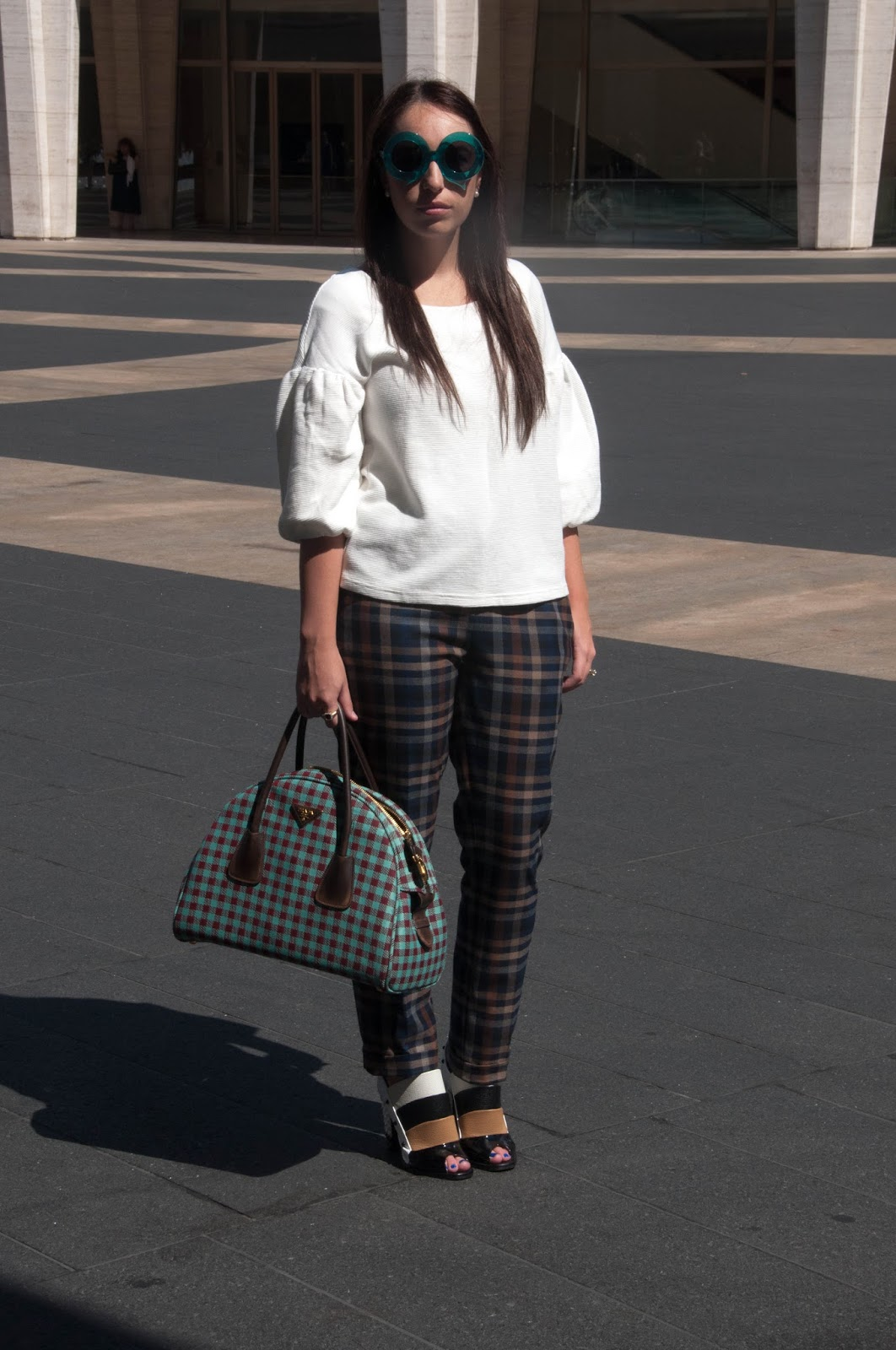 fashion blog, style blog, new york fashion week, anthropologie ootd, ootd, karen walker space bug