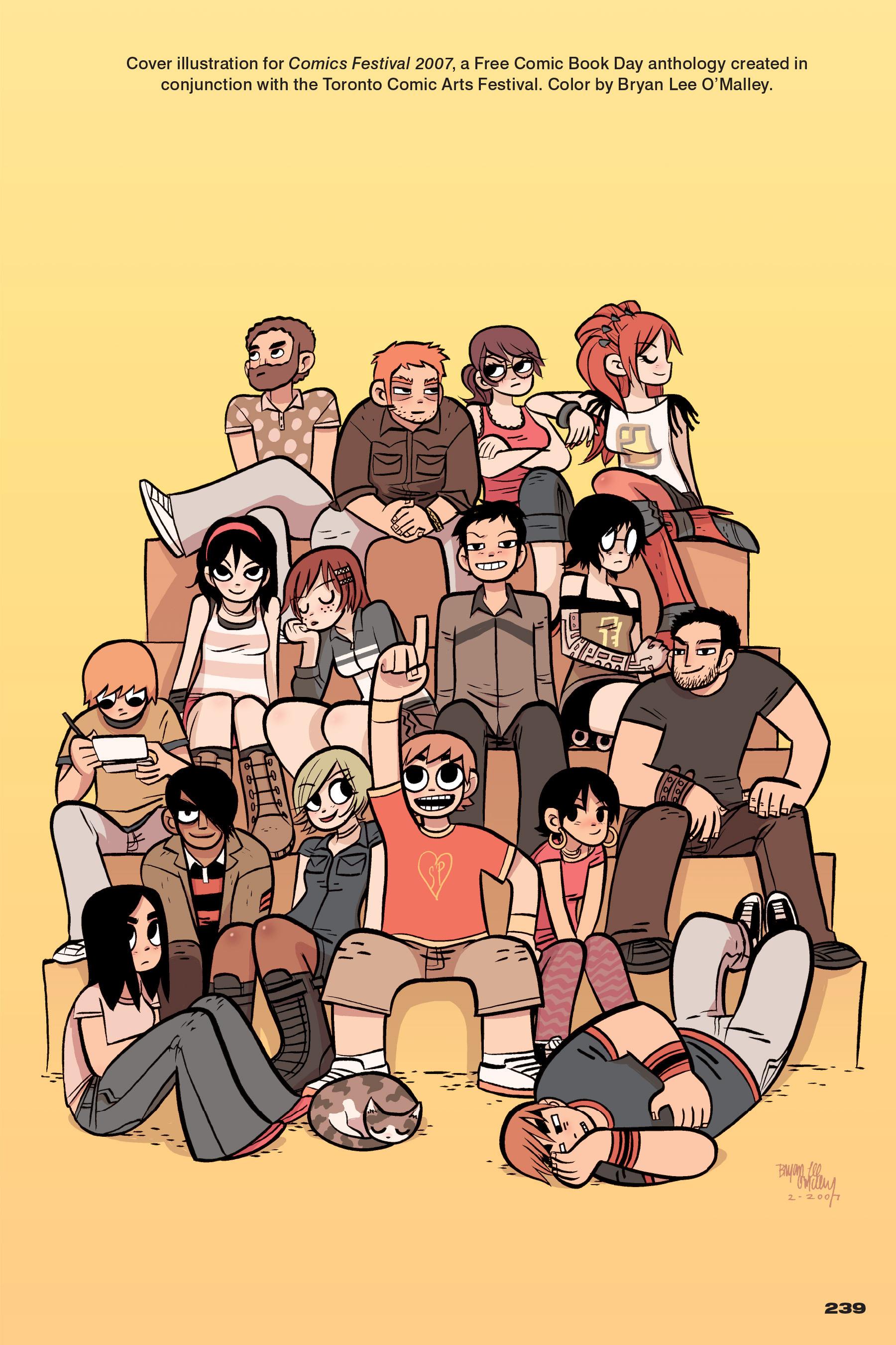 Read online Scott Pilgrim comic -  Issue #4 - 234