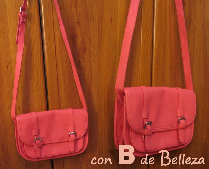 Bolso rosa neón Stradivarius