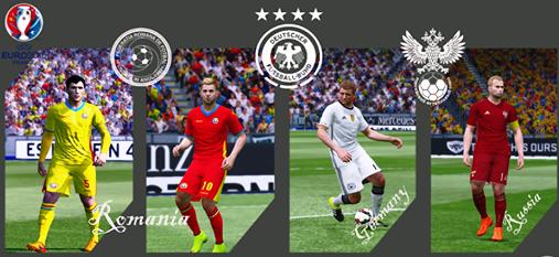 Euro 2016 Kitpack untuk PES 2015