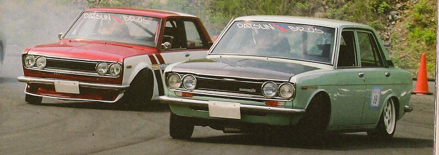 Nissan (Datsun) Bluebird 510 stary japoński samochód sportowy