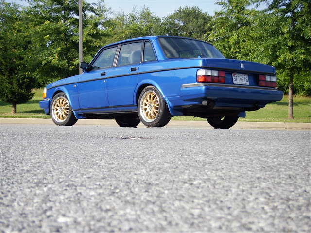 Daily Turismo: 5k: The PO's Money: 1992 Volvo 240 Turbo 5-spd
