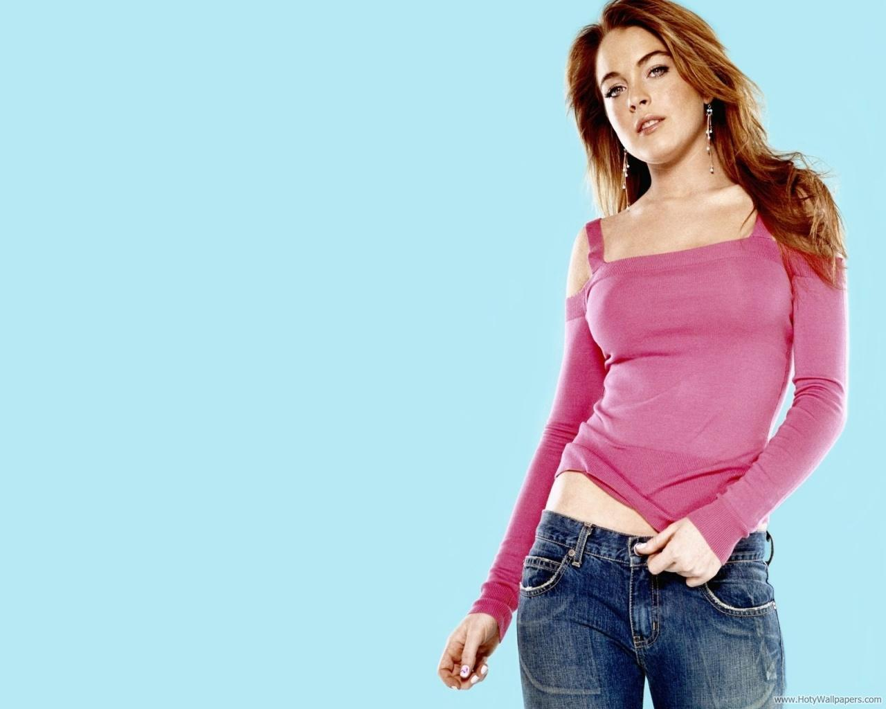 in his shade: lindsay lohan hd wallpapers-1600x1200