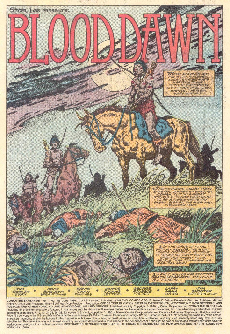 Conan the Barbarian (1970) Issue #183 #195 - English 2