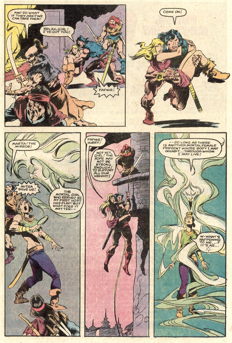 Conan the Barbarian (1970) Issue #165 #177 - English 22