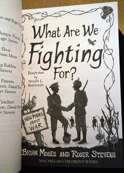 What Are We Fighting For? New Poems About War - Illustration by Nicola L Robinson