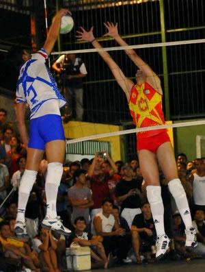 Atletas em disputa (Foto: Divulgação)