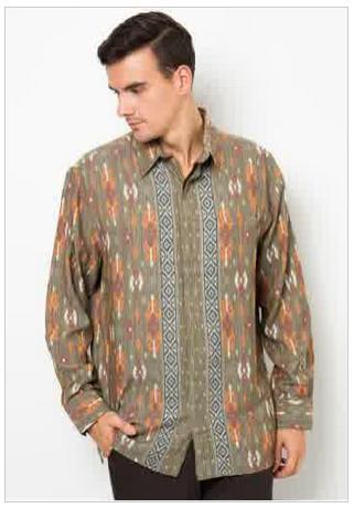 Busana Muslim Batik Pria Model Baru Danitailor