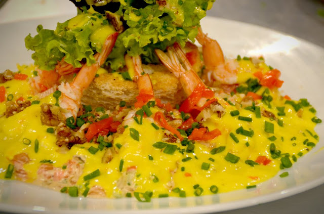 Mango Shrimp Pomelo Salad Recipe