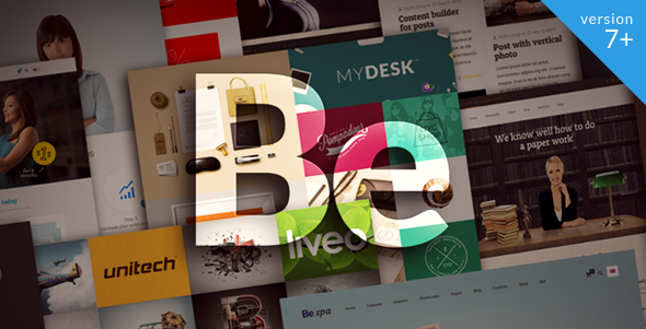 BeTheme v7.6 - Responsive WordPress Theme