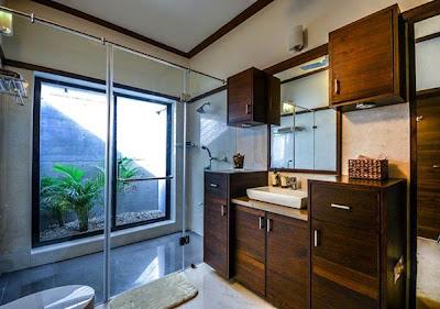Kamar Mandi Desain Rumah Minimalis 1 Lantai yang Indah