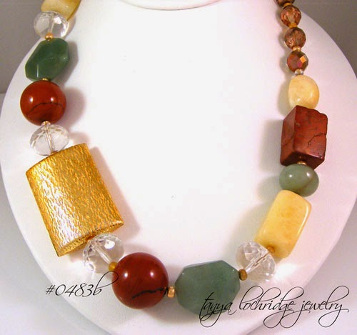 Gemstone Treasure Necklace
