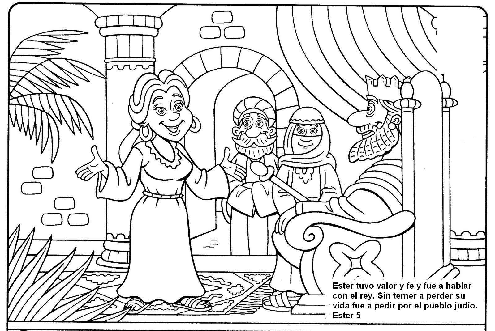 Asombroso Historias De Biblia Para Colorear Colección de Imágenes ...