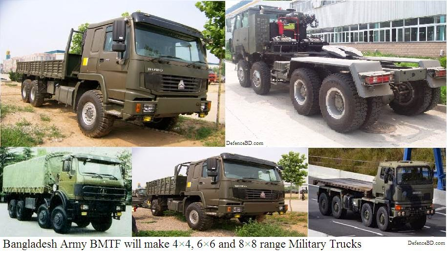 Bangladesh Army BMTF making new Trucks