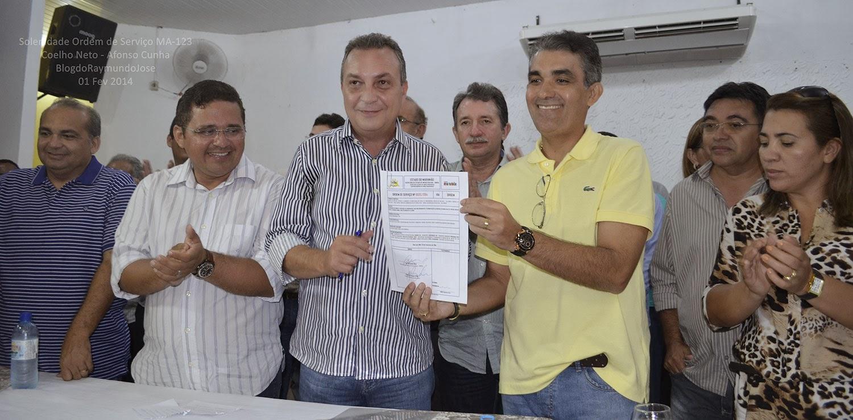 pavimentação Asfáltica da MA-123, Coelho Neto/Afonso Cunha